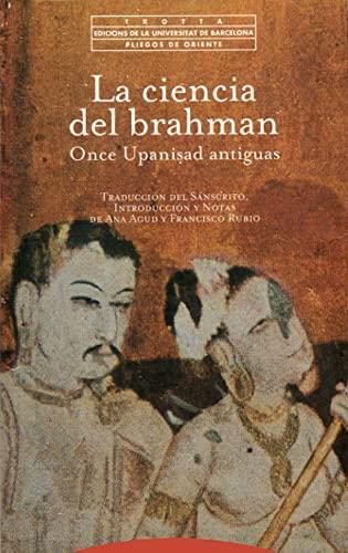 9788481643671: Ciencia del Brahman, La (Spanish Edition)