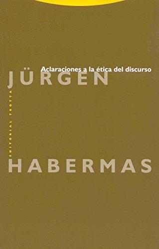 9788481643787: Aclaraciones a la Etica del Discurso (Spanish Edition)