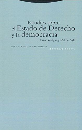 9788481643978: Estudios sobre el Estado de Derecho y la democracia
