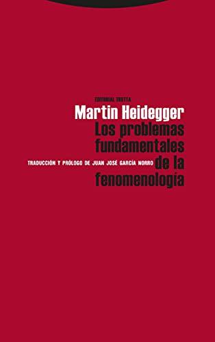 9788481643992: Los problemas fundamentales de la Fenomenología (Estructuras y Procesos. Filosofía)