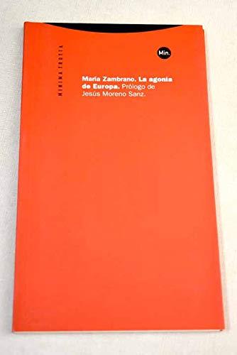 9788481644166: Agonia de Europa, La (Spanish Edition)