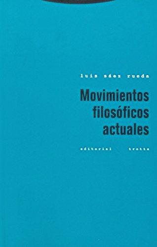 9788481644371: Movimientos Filosoficos Actuales (Spanish Edition)