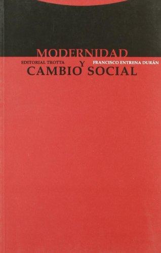 9788481644425: Modernidad y Cambio Social (Spanish Edition)
