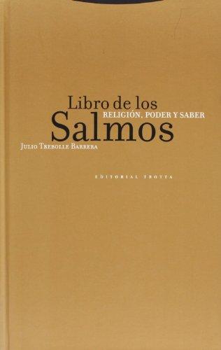 LIBRO DE LOS SALMOS II RELIGION PODER: Julio Trebolle Barrera