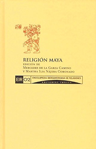 9788481645552: Enciclopedia Iberoamericana de Religiones, Vol. 2. Religion maya (Spanish Edition)