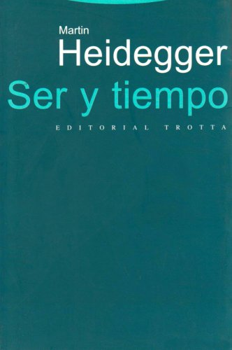 9788481646085: Ser Y Tiempo/ Being and Time (Spanish Edition)
