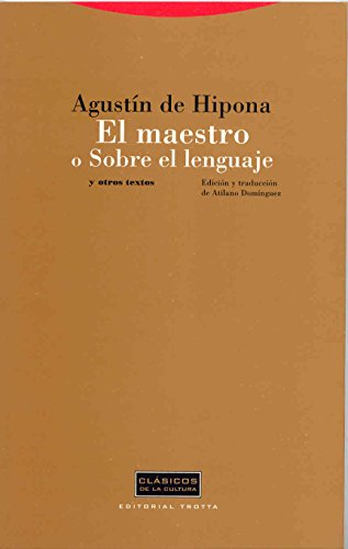 9788481646498: El maestro o sobre el lenguaje/ The teacher or the language (Spanish Edition)