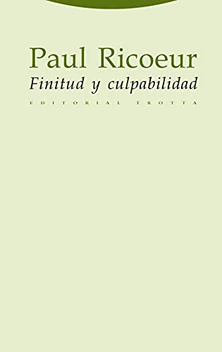 9788481646641: Finitud y Culpabilidad (Spanish Edition)