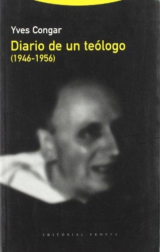 9788481646801: Diario de un teologo (1946-1956)