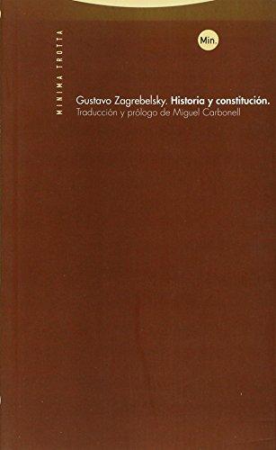 9788481647372: Historia y Constitucion (Spanish Edition)