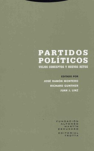 9788481648607: Partidos políticos: Viejos conceptos y nuevos retos (Estructuras y Procesos. Ciencias Sociales)