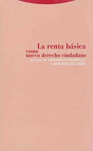 Renta basica como nuevo derecho - Pisarello, Gerardo