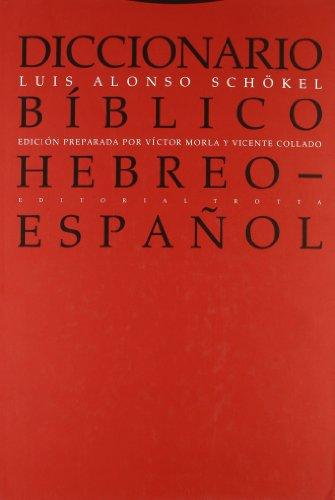 Diccionario bíblico hebreo-español (Biblioteca de Ciencias Bíblicas y Orientales)