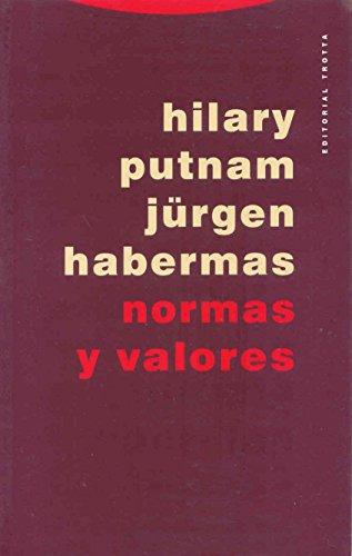 Normas y valores: PUTNAM, - JURGEN