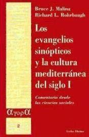 9788481690484: Los evangelios sinópticos y la cultura mediterránea en el siglo I