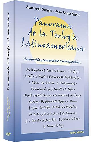 9788481694468: Panorama de la Teología Latinoamericana: Cuando vida y pensamientos son inseparables...
