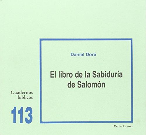 9788481694741: El libro de la Sabiduría de Salomón: Cuaderno Bíblico 113 (Cuadernos Bíblicos)