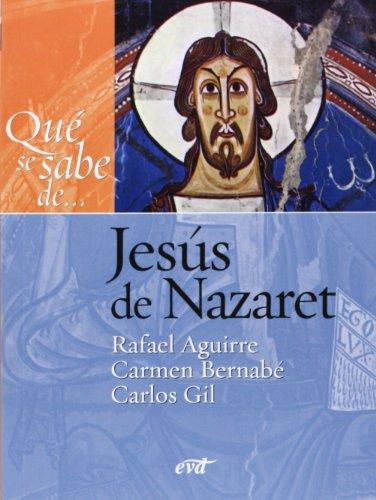 9788481699227: Qué se sabe de... Jesús de Nazaret