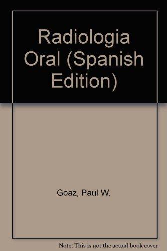 9788481740912: Radiologia Oral (Spanish Edition)