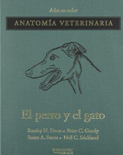 9788481742008: Atlas en color de anatomia veterinaria del perro y el gato