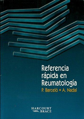 9788481742572: Referencia Rapida en Reumatologia (Spanish Edition)