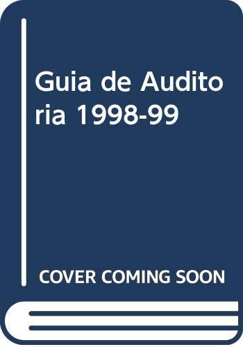 9788481743838: Miller, guia de auditoria 1998-99