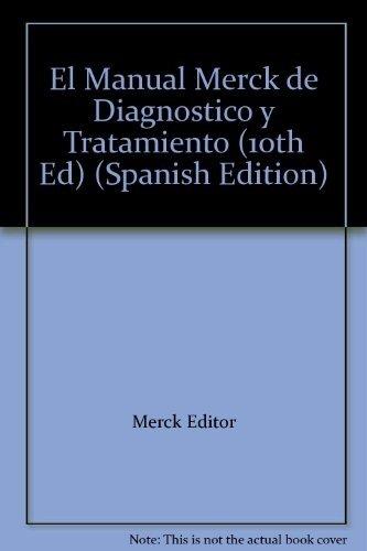 9788481744156: Manual Merck De Diagnostico Y Terapeutica, 10 Edicion Ed. 1999