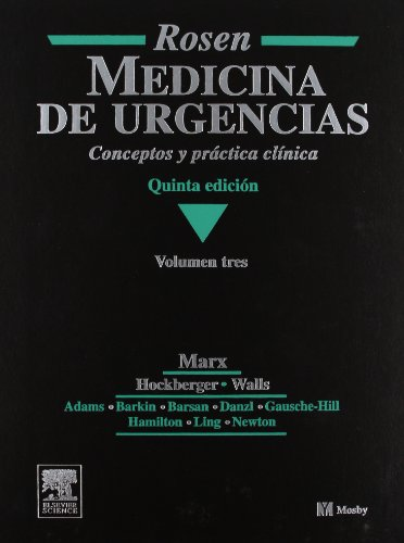 9788481746372: ROSEN. Medicina de Urgencias, 3 vols. (Spanish Edition)