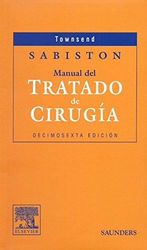 9788481746631: Sabiston Manual del Tratado de Cirurgia, 16e (Spanish Edition)