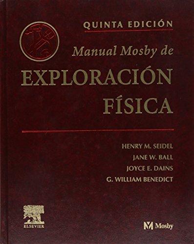 9788481746839: Manual Mosby de exploración física (Spanish Edition)