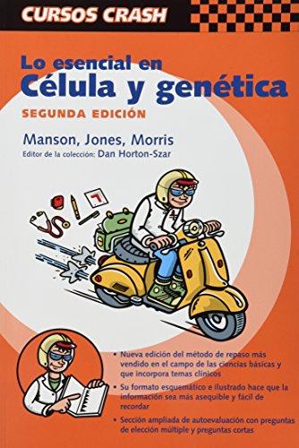 9788481746983: Lo esencial en celula y genetica (Curso Crash De Mosby)