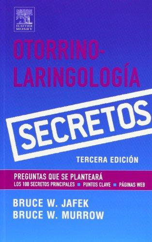 9788481748857: Otorrino-Laringologia (Serie Secretos)