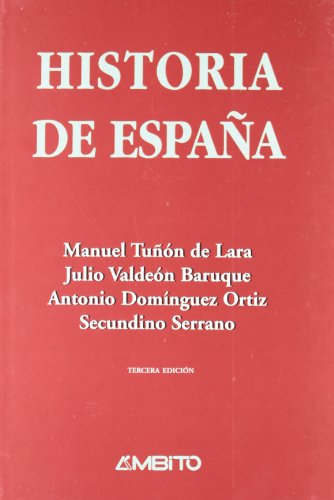 9788481830491: Historia de Espa�a tu�on de Lara