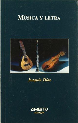 9788481831627: Musica y letra (Alarife)