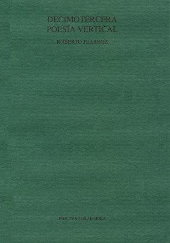 9788481910056: Poesia Vertical (Pre-textos. Poesía) (Spanish Edition)