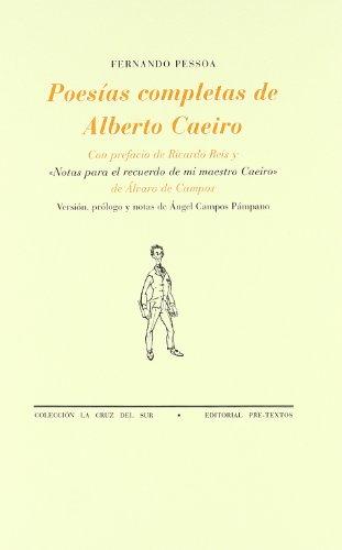 9788481911480: Poesías completas de Alberto Caeiro