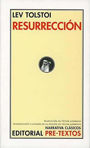 9788481912388: Resurrección (Narrativa Clásicos)