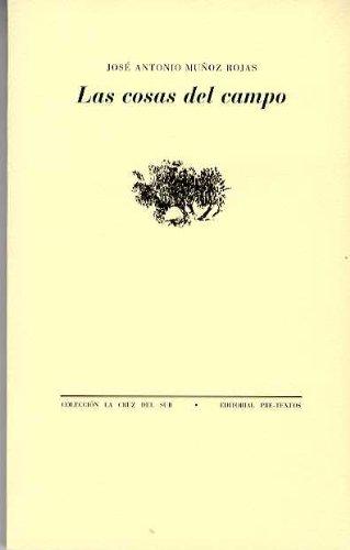9788481912500: Cosas del campo (La cruz del sur)