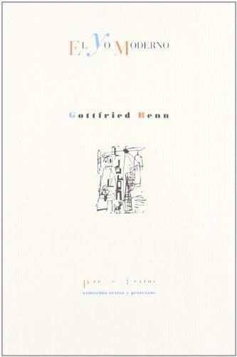 9788481912609: El yo moderno y otros ensayos