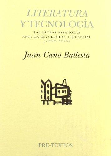9788481912661: LITERATURA Y TECNOLOGIA