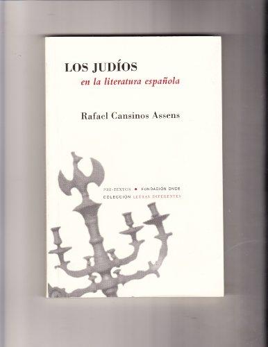9788481913880: Los Judios En La Literatura Espanola