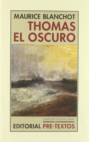 9788481914634: Thomas El Oscuro (Spanish Edition)