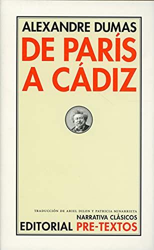 DE PARIS A CADIZ: Dumas,Alexandre