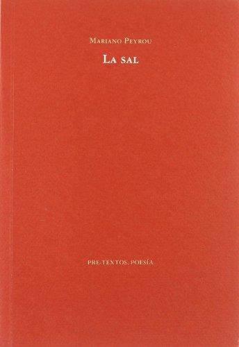 9788481916638: La sal ( Poesía)