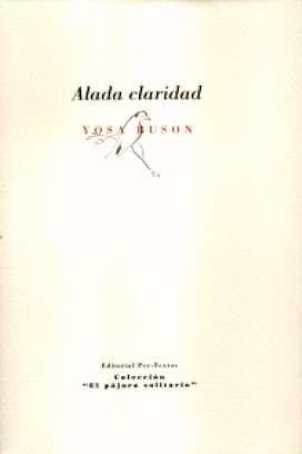 ALADA CLARIDAD - Buson,Yosa