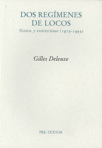 9788481918502: Dos regimenes de locos/ Two Crazy Regimes (Spanish Edition)