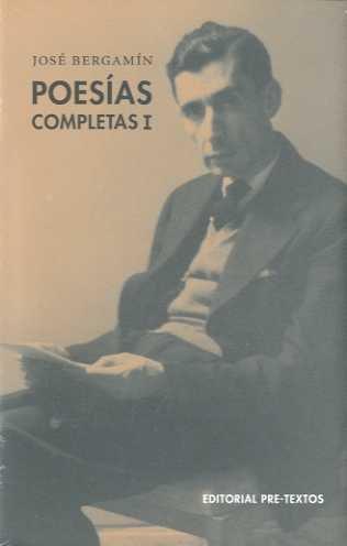 Poesias completas.: Bergamin, Jose