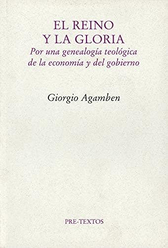 9788481919325: El Reino y la Gloria (Ensayo)