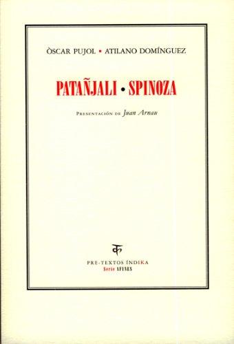 9788481919837: Pantanjali/Spinoza