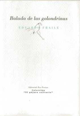 9788481919844: Balada de las golondrinas